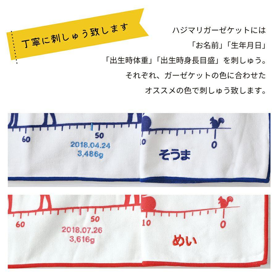 hajimari(ハジマリ) ガーゼケットと今治タオルのおむつケーキのセット